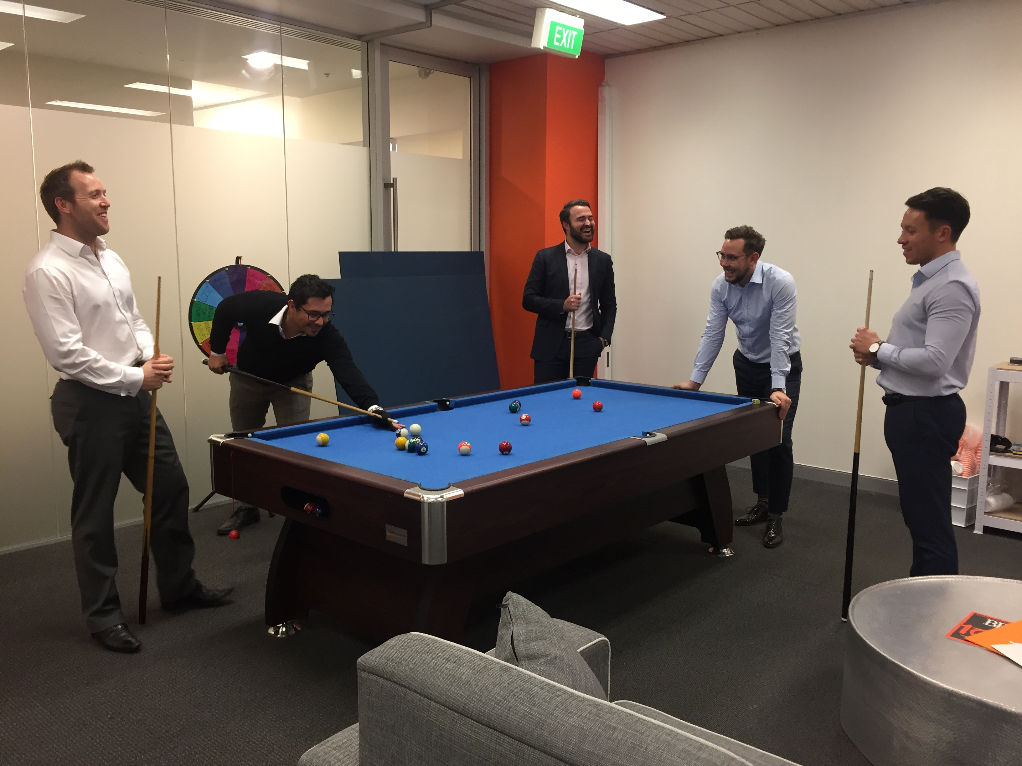 Sydney Office: Pool Table